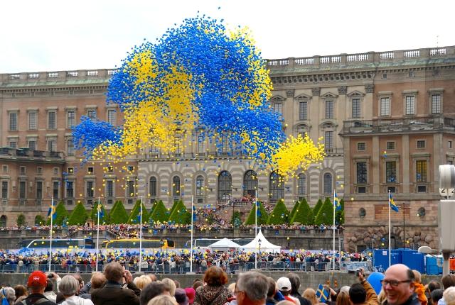 Nationaldagen 2009 - Ballongfirande